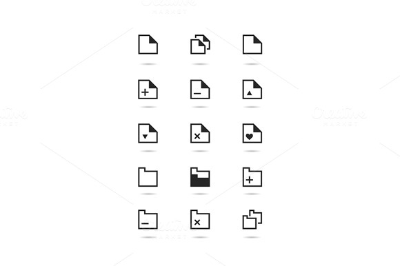 Doc File Icons Set