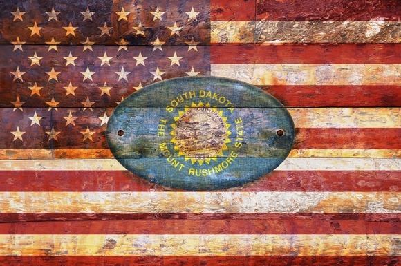 USA And South Dakota