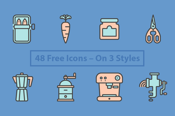 PictogrЁўfica 16 Free Icons
