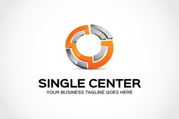 Single Center Logo Template