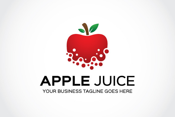 Apple Juice Logo Template