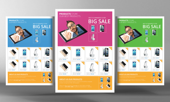 Products Promotion Flyer Template