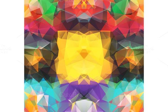 Set Triangle Background
