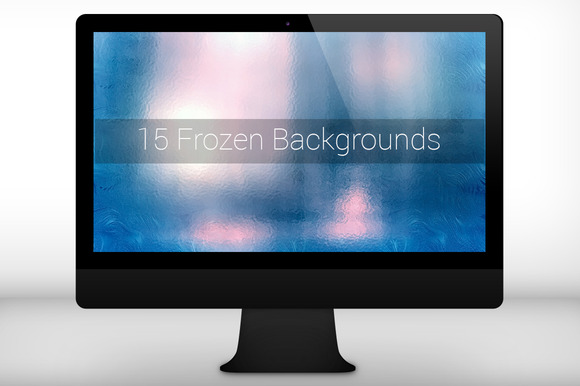 15 Frozen Backgrounds