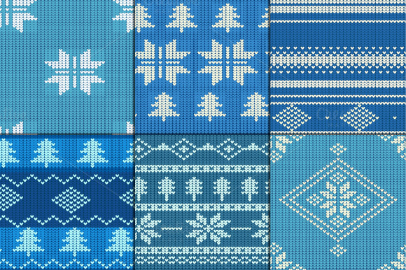 Christmas Seamless Knitting Patterns