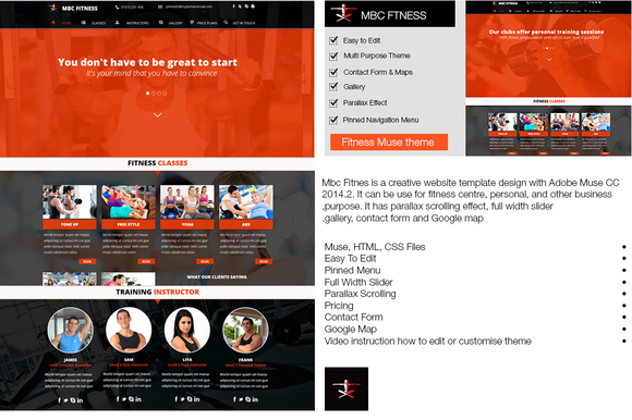 Mbc Fitness Muse Template