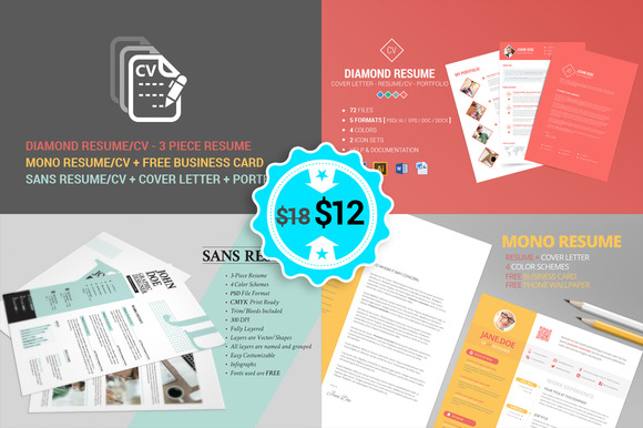 Resume CV No1 Bundle