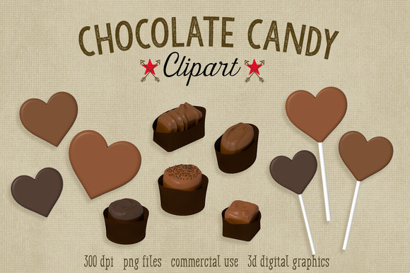Chocolate Candy Graphics