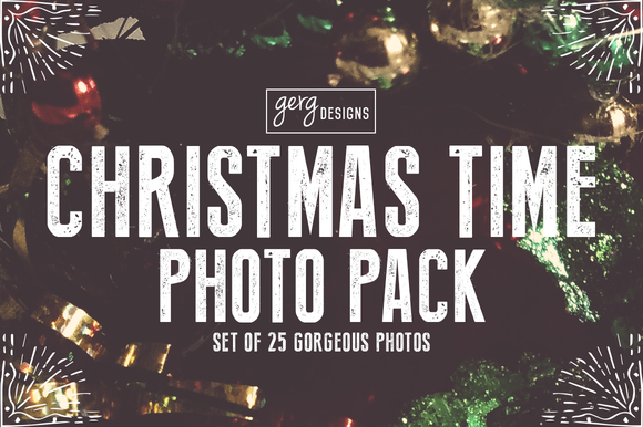 Christmas Time Photo Pack