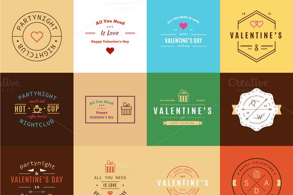 Happy Valentine S Day Trendy Retro