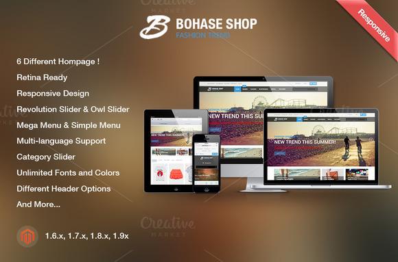 Bohase Shop Premium Magento Theme
