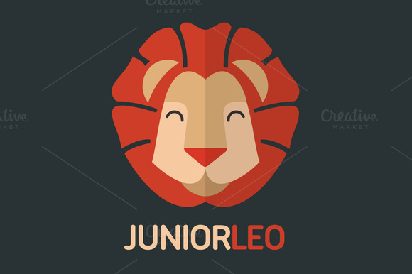 Junior Leo Logo Template