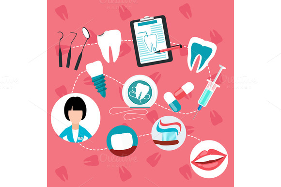 Dental Treatment And Teeth Helth