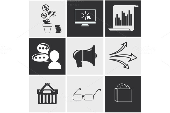 Icons For Seo Social Media Online