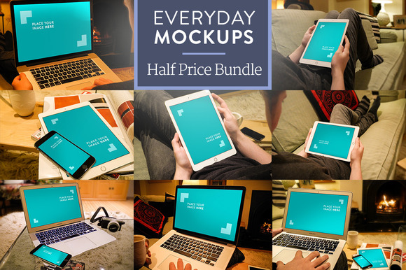 Everyday Mockups Bundle 1