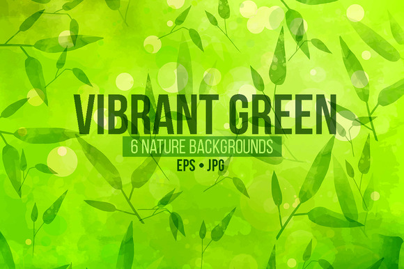 Vibrant Green Textures Pack