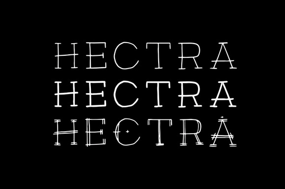 Hectra Font Family