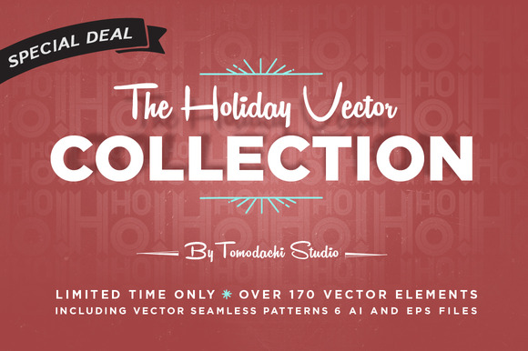 The Holiday Vector Collection