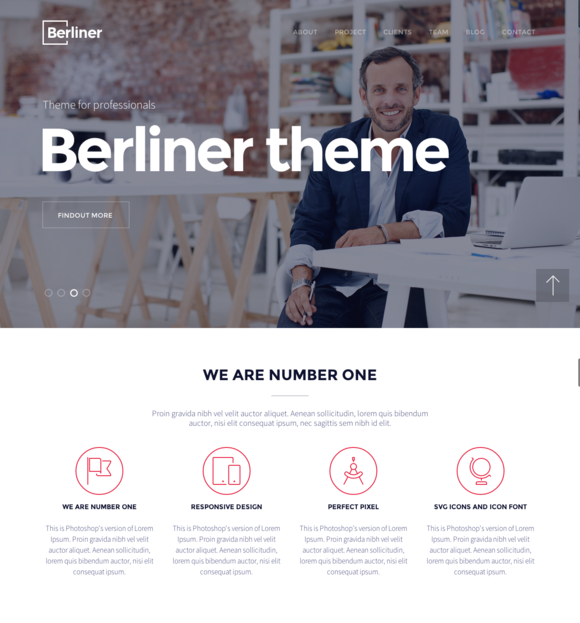 BERLINER Bootstrap HTML5 Template