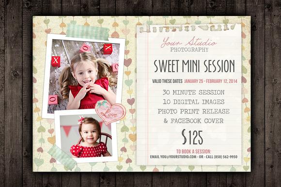 Valentine Marketing Mini Session PSD