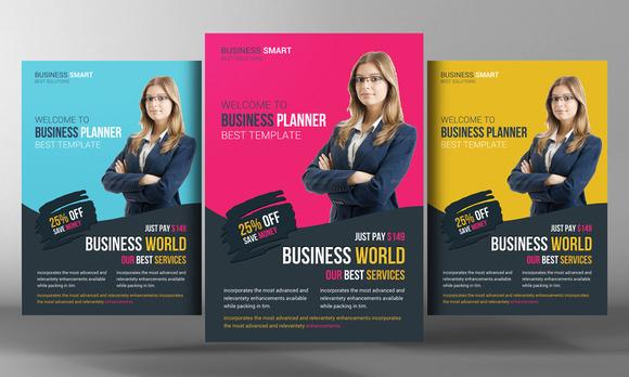 Business World Flyer Template