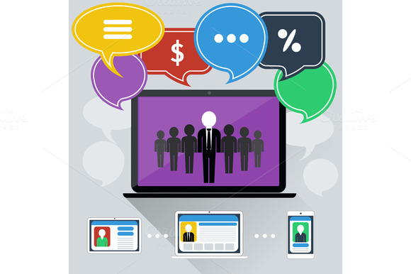 Concept Of Online Meeting