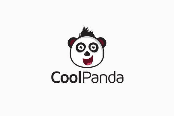 Panda Animal Logo