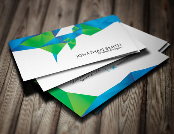 Abstract Visiting Card-v01