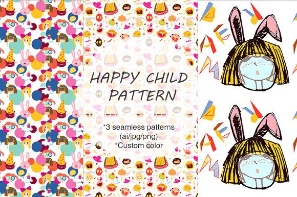 ORIGINAL HAPPY CHILD PATTERN