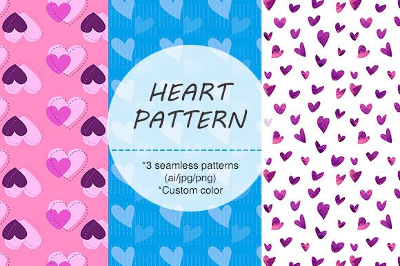 ORIGINAL HEART THEME SEAMLESS PATTER
