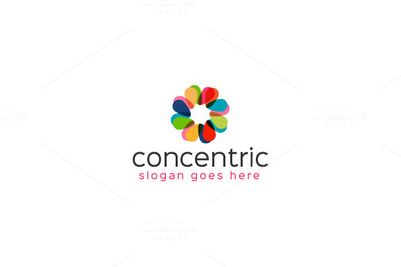 Concentric Logo Design