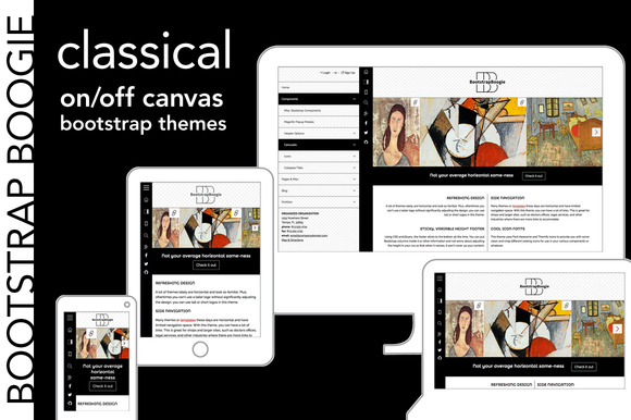 Classical 240px Up Bootstrap Theme