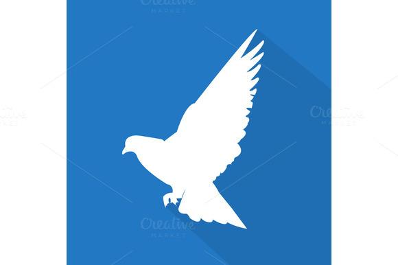 Creative Dove Icon