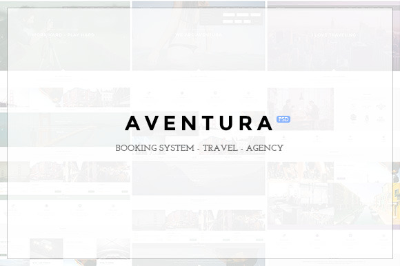 Aventura Booking PSD Template