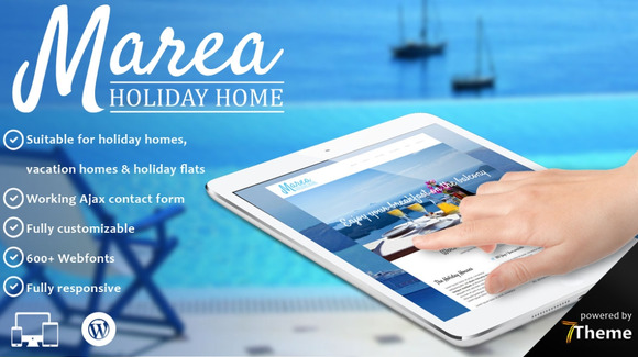 Marea Hotel WordPress Theme