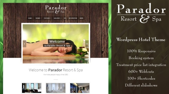 Parador Hotel Spa WordPress