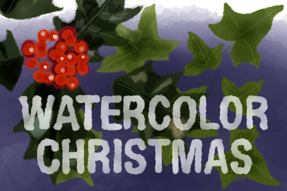 Christmas Watercolors