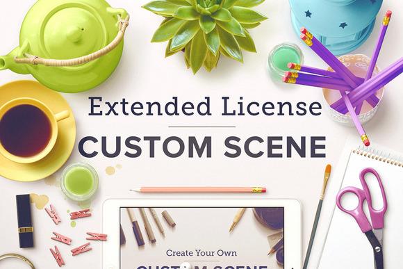 Custom Scene Extended License