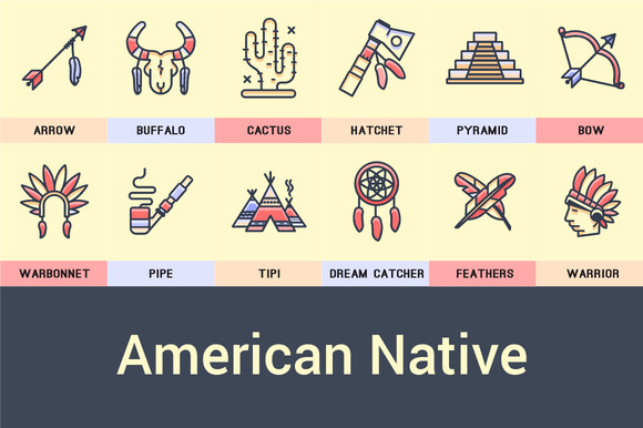 American Native Icon