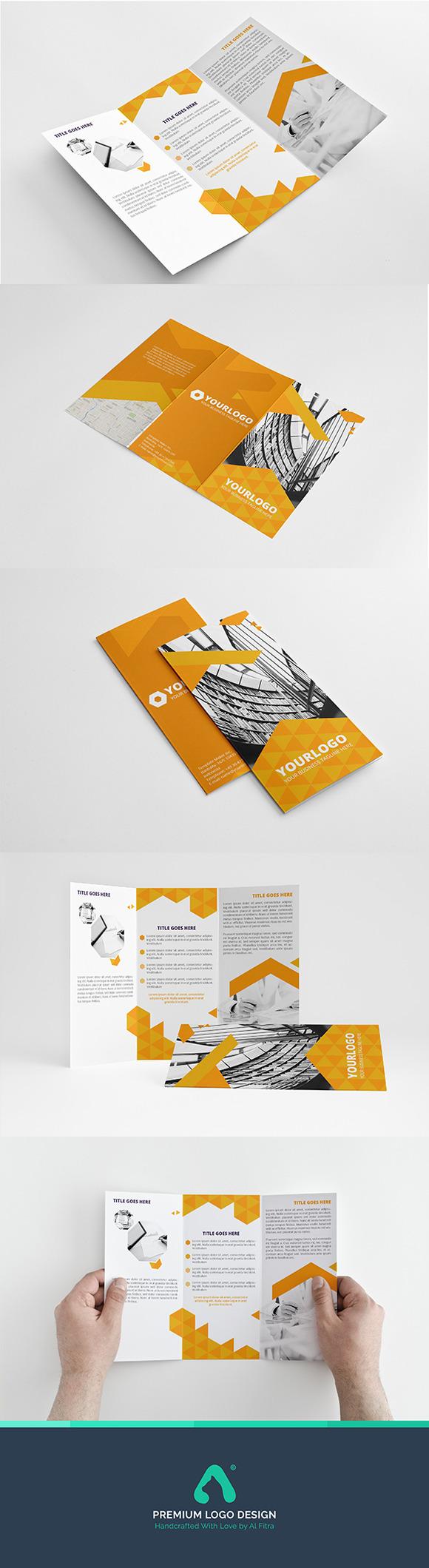 Orangel Trifold Template