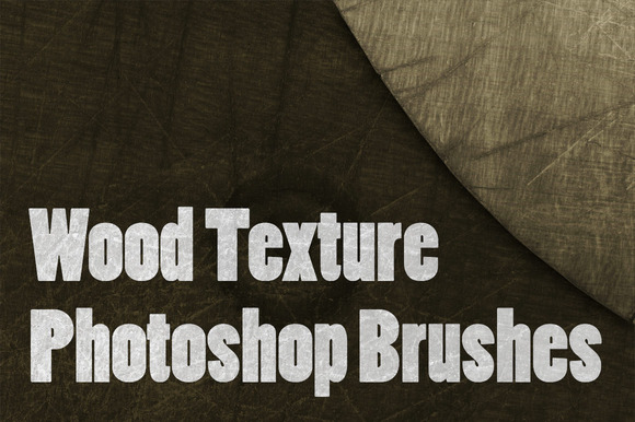 Wood Texture Photoshop Brushes