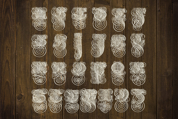 Vintage Ornamental Typeface