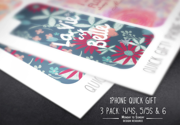 SAVE$Quick Gift- IPhone Skin 3 Pack