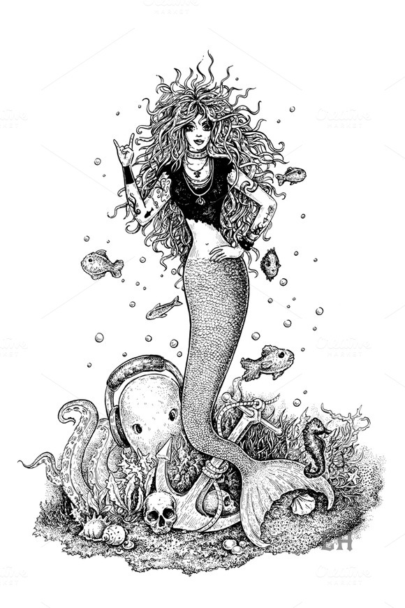 Rocking Mermaid