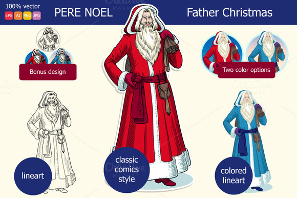 Pere Noel Father Christmas