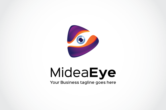 Media Eye Logo Template