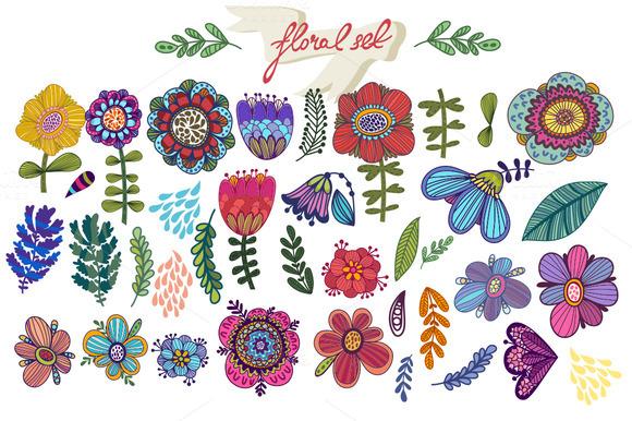 Floral Candies