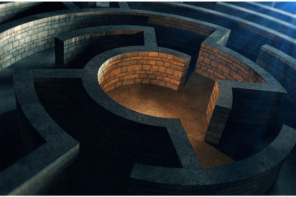 Ancient Mystic Labyrinth