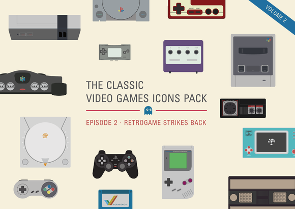 Video Games Icons Pack Vol.2