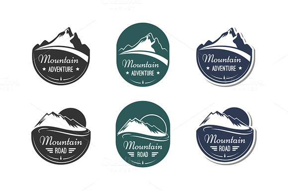 Mountain Design Elements